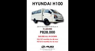 2019 Hyundai H-100 2.5 CRDi GL MT PE w/ Front AC