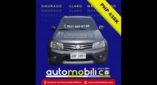2015 Suzuki Grand Vitara 2.4L AT Gasoline