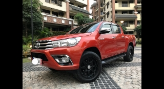 2016 Toyota Hilux 2.5L AT Diesel