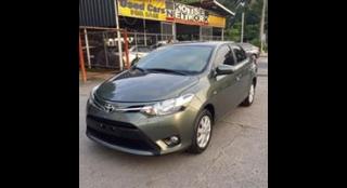 2016 Toyota Vios 1.3 e 1.3L MT Gasoline