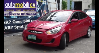 2012 Hyundai Accent Sedan GL Gas AT