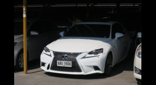 2015 Lexus IS350 3.5L AT Gasoline