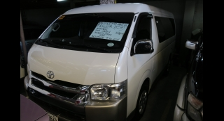 2016 Toyota Hiace Super Grandia 3.0 LXV White Pearl