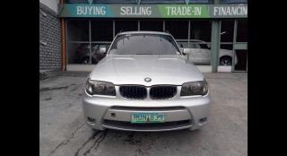 2005 BMW X3 2.5i SAV