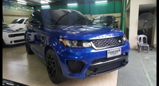 2016 Land Rover Range Rover Sport 5.0L AT Gasoline