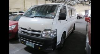 2012 Toyota Hiace Commuter MT