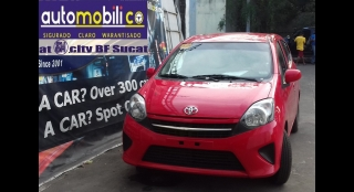 2014 Toyota Wigo 1.0L MT Gasoline