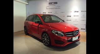 2015 Mercedes-Benz B-Class 2.0L AT Gasoline