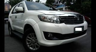 2012 Toyota Fortuner G Diesel AT