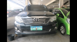 2013 Toyota Fortuner G Gas AT
