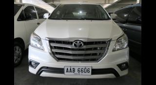 2014 Toyota Innova G 2.5 DSL AT White Pearl
