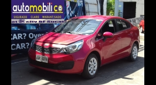 2015 Kia Rio Sedan 1.2L MT Gasoline