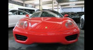 2001 Ferrari 360 Modena 3.6L AT Gasoline