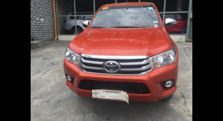 2016 Toyota Hilux 2.4G AT (4X2)