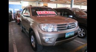 2010 Toyota Fortuner 2.5L MT Diesel