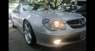 2005 Mercedes-Benz SL-Class SL350