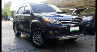 2013 Toyota Fortuner G Diesel AT