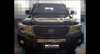 2013 Toyota Land Cruiser 200 4.5L AT Diesel