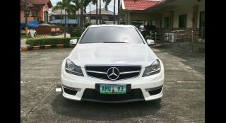 2012 Mercedes-Benz C-Class Sedan C63 AMG