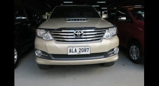 2015 Toyota Fortuner 2.5L AT Diesel