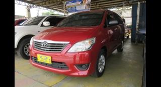 2012 Toyota Innova E Gas MT