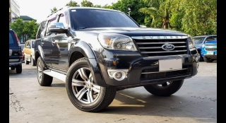 2010 Ford Everest Limited (4X2) AT