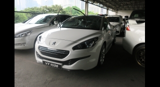 2015 Peugeot RCZ 1.6L AT Gasoline