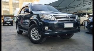 2012 Toyota Fortuner G MT DSL