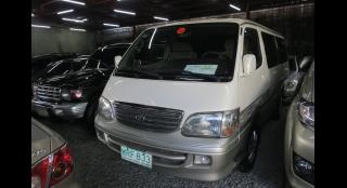2001 Toyota Hiace 3.0L MT Diesel