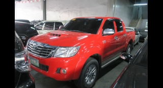 2013 Toyota Hilux G (4X4) AT