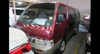 2013 Nissan Urvan 2.7L MT Diesel