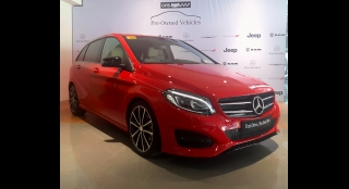 2015 Mercedes-Benz B-Class 1.6L AT Gasoline