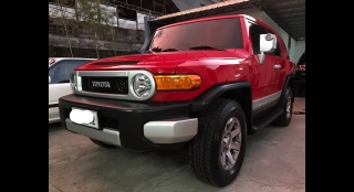 2016 Toyota FJ Cruiser 4.0L AT Gasoline