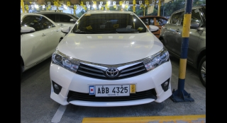 2014 Toyota Corolla Altis 2.0V AT Gas