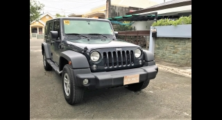 2017 Jeep Wrangler Unlimited Sport AT Gasoline