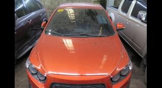 2014 Chevrolet Sonic Sedan 1.4 AT LTZ