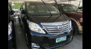 2013 Toyota Alphard 3.5L AT Gasoline