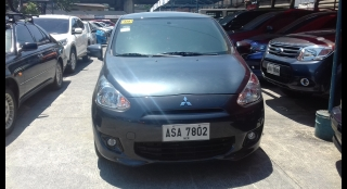 2015 Mitsubishi Mirage GLS 1.2L AT Gasoline