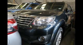 2012 Toyota Fortuner G Diesel AT