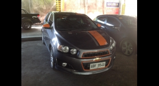 2014 Chevrolet Sonic Hatchback 1.4 AT LTZ