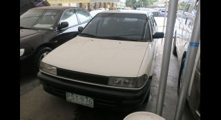 1989 Toyota Corolla XL 1.3L MT