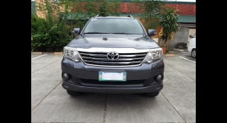 2012 Toyota Fortuner G 2.7 G AT