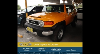 2015 Toyota FJ Cruiser 4.0L AT Gasoline