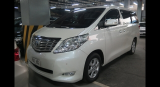 2011 Toyota Alphard Gas 3.5L AT