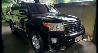 2015 Toyota Land Cruiser Bullet Proof Level 6 4.5L AT Diesel