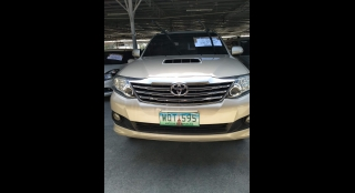 2014 Toyota Fortuner G AT DSL