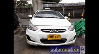2012 Hyundai Accent Sedan MT Gasoline