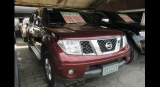 2009 Nissan Frontier Navara (4X4) MT