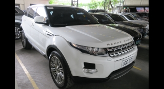 2012 Land Rover Range Rover Evoque Si4 6AT