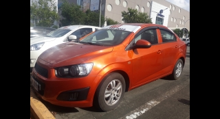 2015 Chevrolet Sonic Sedan 1.4 AT LS